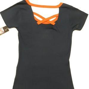 NFL Tops - NFL Women's Med Chicago Bears Shirt w/ straps back